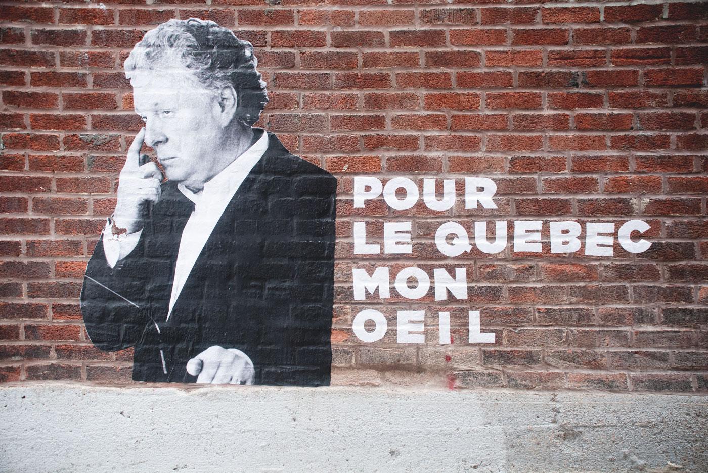 Jean Charest street art