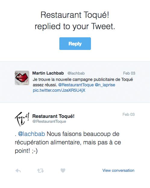 Toqué Restaurant Montréal.