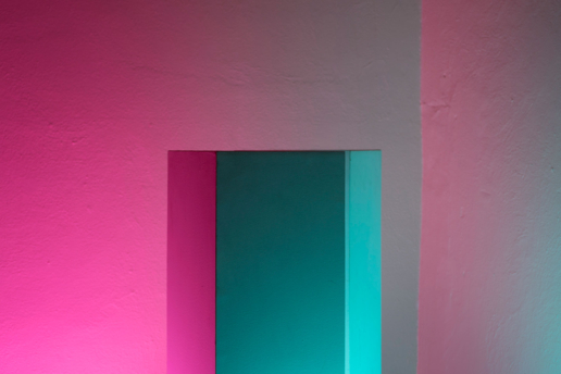 Installation artistique de néons