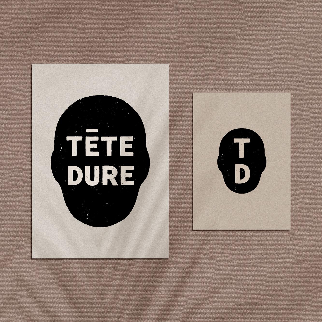 Proposition de logo pour Tête Dure